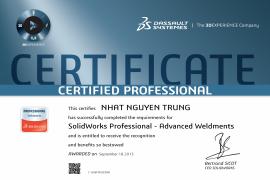SOLIDWORKS Professional - Advanced Weldments