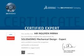 SOLIDWORKS Mechanical Design - Expert
