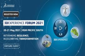 Sự kiện Online 3DEXPERIENCE Forum Asia Pacific