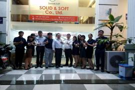 SOLID & SOFT CO., LTD IS WELCOME DASSAULT  SYSTÈMES