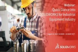 Webinar: Ứng dụng SOLIDWORKS trong ngành thiết bị Công Nghiệp