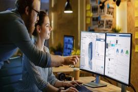 COLLABORATION, DATA SHARING AND SECURE ACCESS BY CONNECTING WITH THE 3DEXPERIENCE