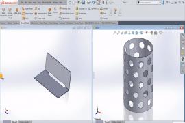 #2 Ứng dụng Fold và Unfold trong Thiết kế Kim loại Tấm